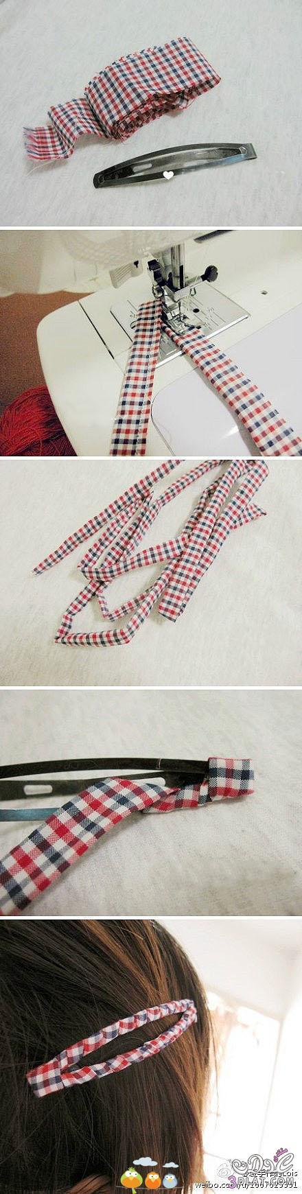 [صور] توك شعر يدوية,طريقة عمل فيونكات بالشرائط لتزين الشعر والملابس2014 3dlat.com_1398460450