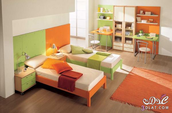 غرف نوم اطفال اولادى رائعة,اجدد موديلات غرف النوم للاطفال,غرف نوم