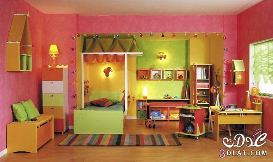 غرف نوم للبنات 2018 ديكورات غرف نوم للاطفال 2018 بتصميمات راقيه
