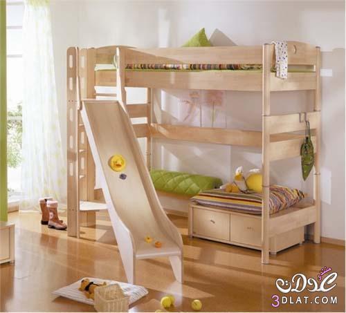 : غرف نوم اطفال بنات دورين : اطفال