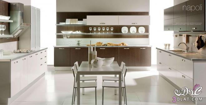 3dlat.com 13993060461 تصميم مطبخ عصري حديث بألوان مودرن