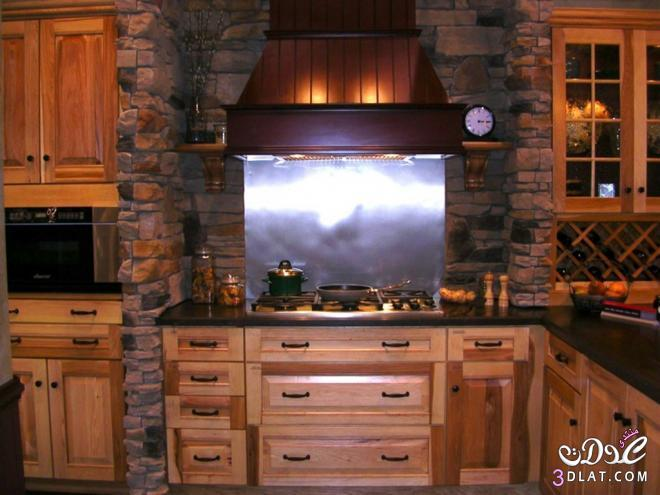 3dlat.com 13993060469 تصميم مطبخ عصري حديث بألوان مودرن