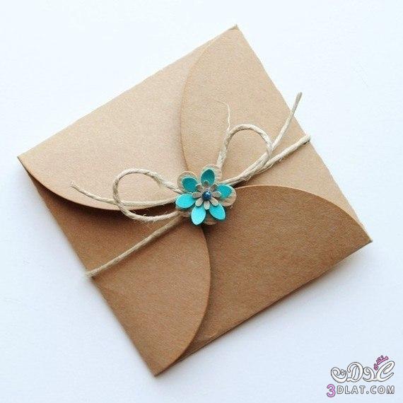 قدمى هديتك بعمل من صنع يدك / ظرف للهدايا للاصدقاء والاهل 3dlat.com_1399852233