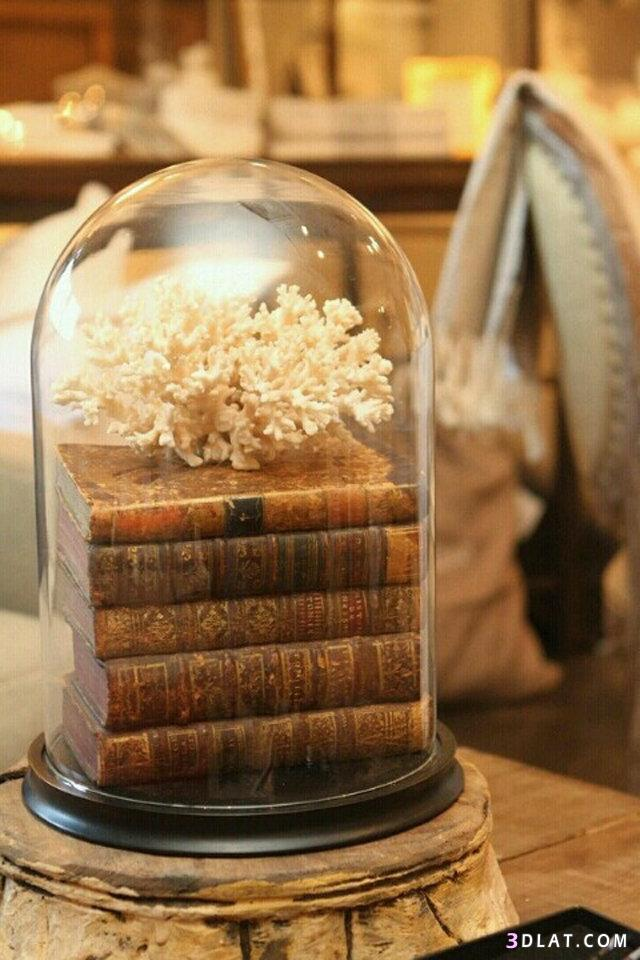 عصرية لتنسيق الكتب ديكور المنزل 3dlat.com_13_18_3d44