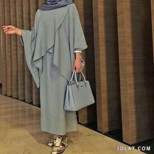 عبايات محجبات فخمه وشيك2019.ملابس محجبات عصريةللمحتشمات.اشيك 3dlat.com_13_18_51e5