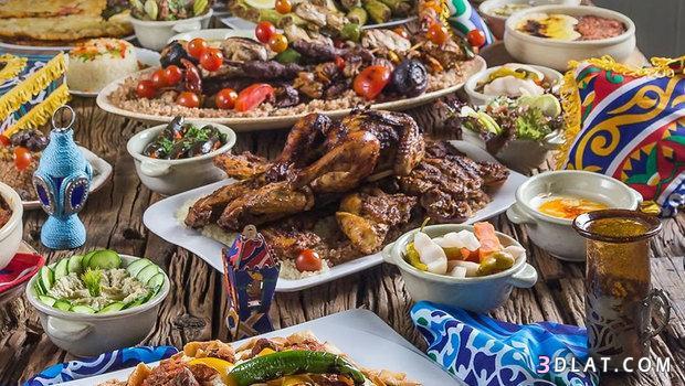اتيكيت مائدة الطعام عزومات رمضان, اداب 3dlat.com_13_18_679b