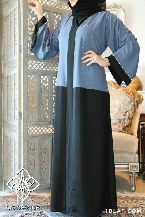 عبايات محجبات فخمه وشيك2019.ملابس محجبات عصريةللمحتشمات.اشيك 3dlat.com_13_18_74fb