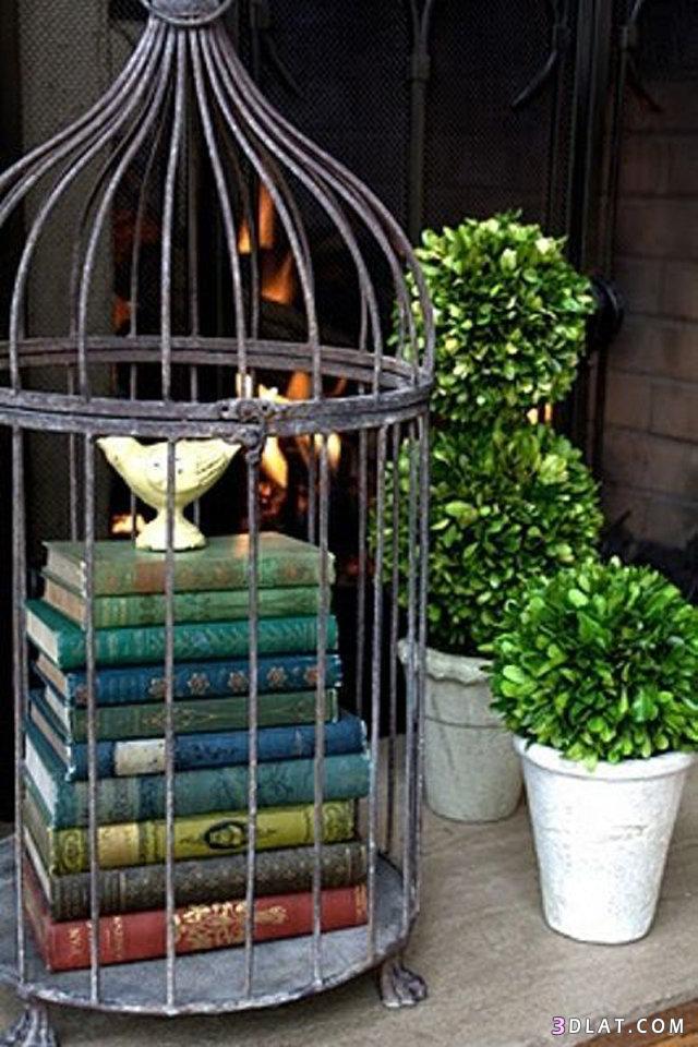 عصرية لتنسيق الكتب ديكور المنزل 3dlat.com_13_18_f1d4