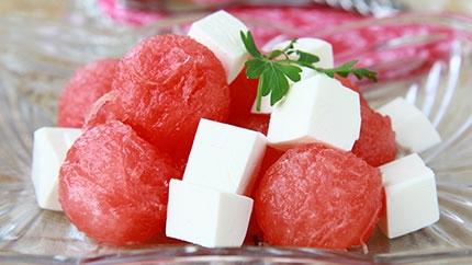أفكار جميلة لتقديم البطيخ الجبن 3dlat.com_1400592960