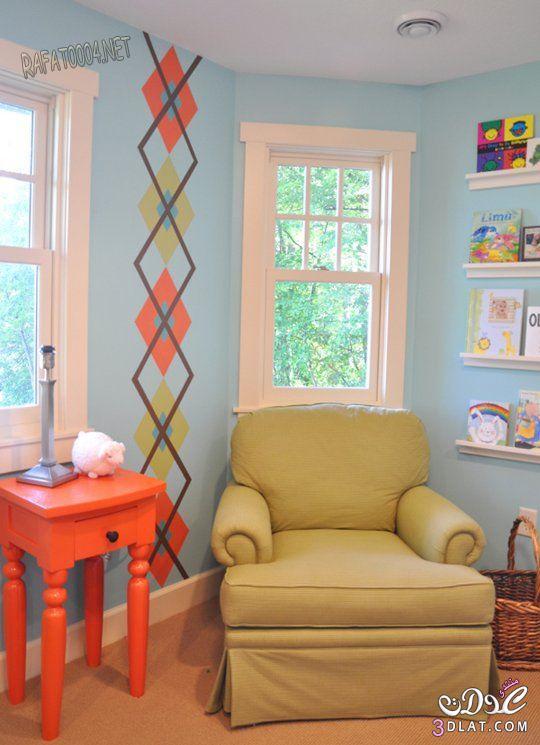 ديكورات و افكار جديده لتزيين غرف الاطفال افكار جديده لتزيين جدار غرف نوم الاطفال 3dlat.com_1400748447