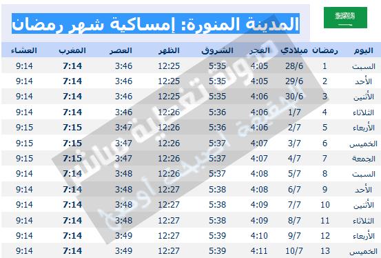 صور امساكيه شهر رمضان 2017/1438 كل البلاد العربية اول ايام ...