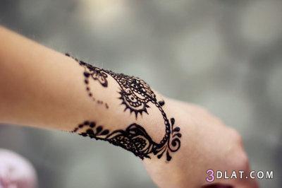 اجمل نقوش الحنا بألوانها الأسود 3dlat.com_1401224347