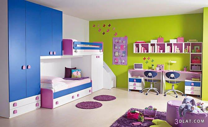 احدث غرف نوم اطفال 2018 2018 اجمل ديكورات وصورغرف نوم اطفال