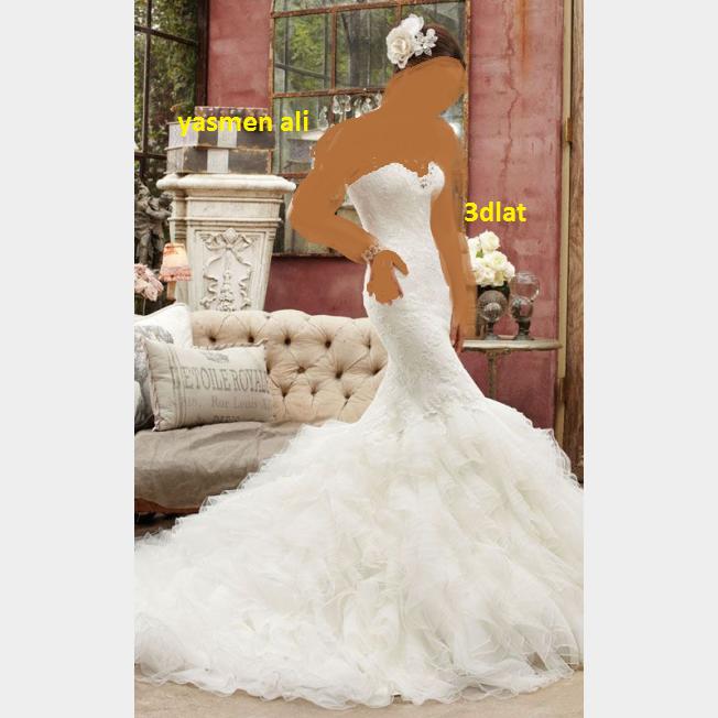 صور فساتين زفاف 2014 احدث فساتين الزفاف 2014 3dlat.com_14018030683