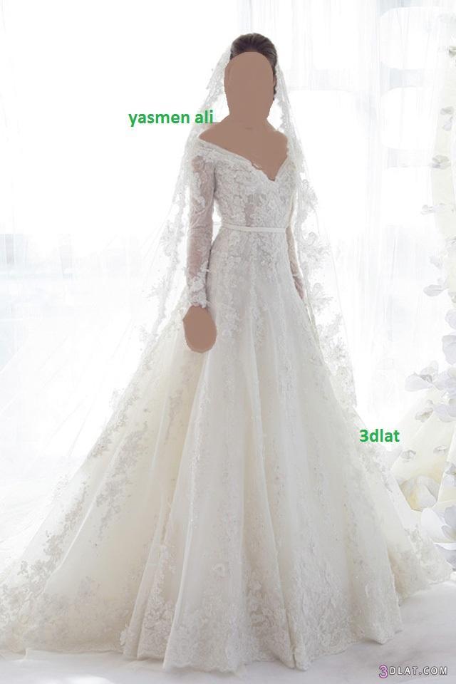 صور فساتين زفاف 2014 احدث فساتين الزفاف 2014 3dlat.com_14018030684
