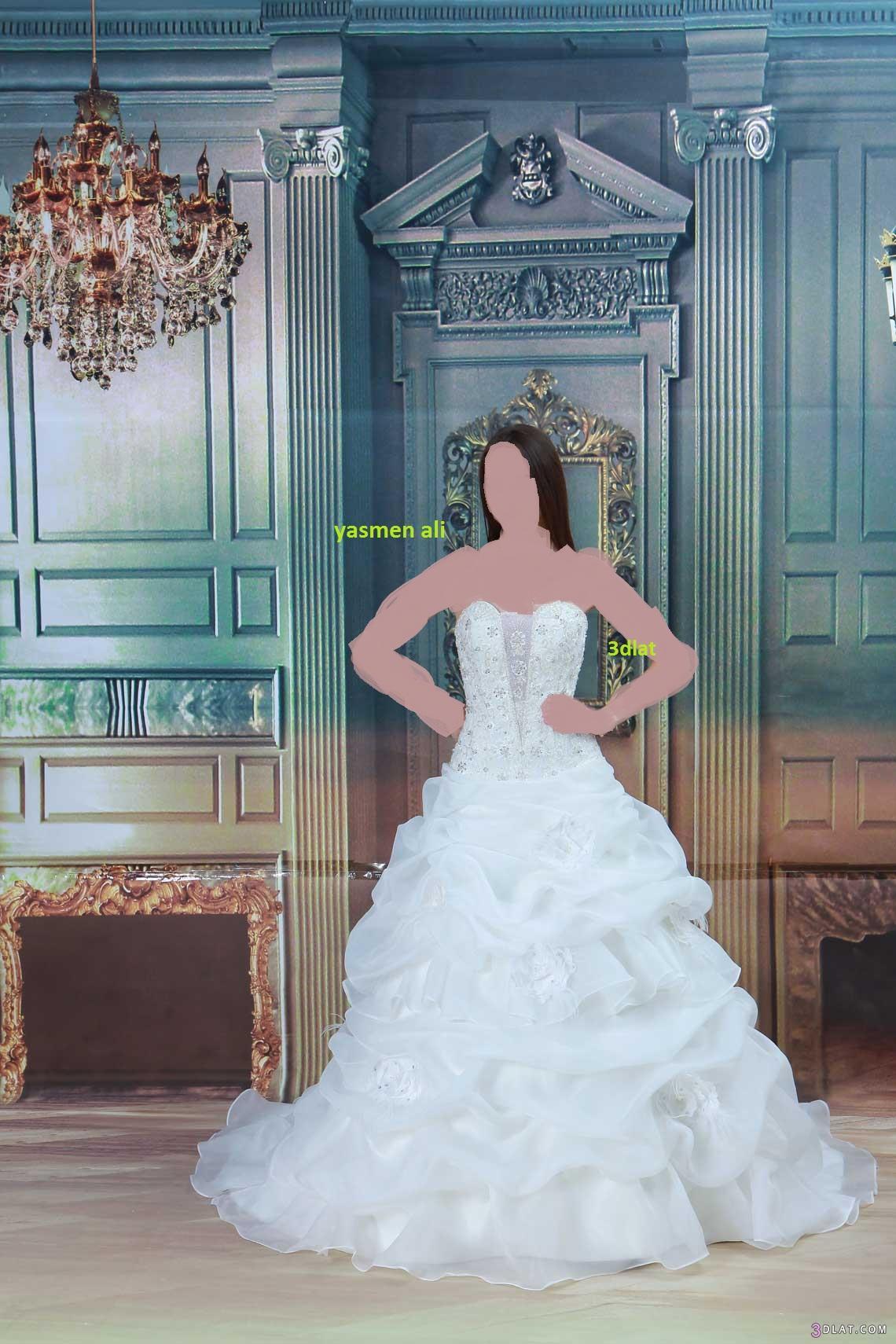 صور فساتين زفاف 2014 احدث فساتين الزفاف 2014 3dlat.com_14018030699