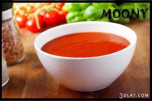 طريقة شوربة الطماطم بالكريما طريقة 3dlat.com_1403064770