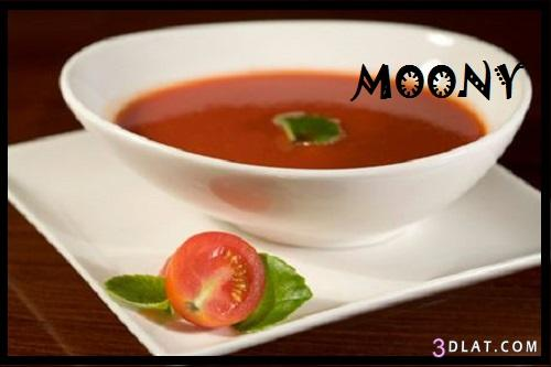 طريقة شوربة الطماطم بالكريما طريقة 3dlat.com_1403065008