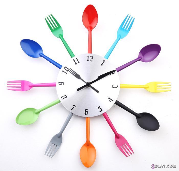 اجمل ساعات ملائمه للمطبخ 2014 , اشيك ساعات للمطبخ 2013 3dlat.com_1403273498