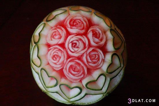 جديدة لتقديم البطيخ 3dlat.com_1403450910