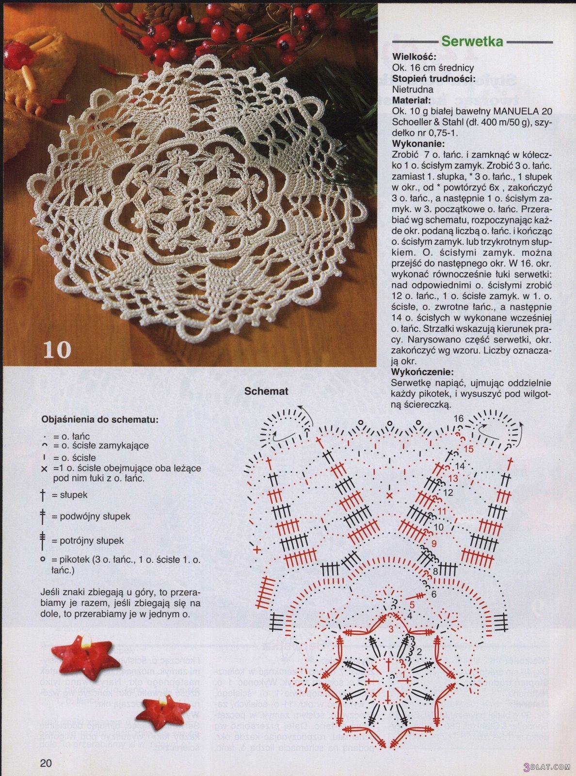 d142f2179 موسوعة مفارش كروشية دائرية بالباترون حصررري علي عدلات - زهرة الأوركيدا