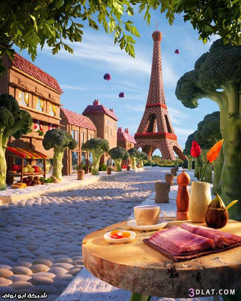 مناظر طبيعية من المواد الغذائية مناظر جميلة من المواد الغذائية 3dlat.com_1403542603