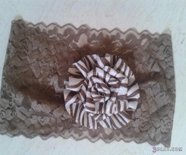 [صور] بندانات شعر يدوية 2014,توك للشعر بالدانتيل والورود,طريقة عمل بندانة للشعر بسيطة 3dlat.com_1403568201