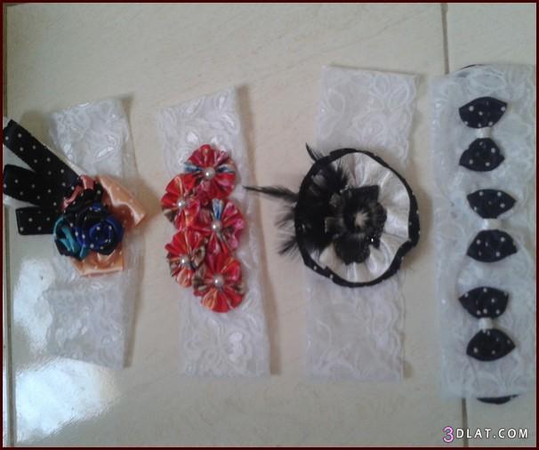 [صور] بندانات شعر يدوية 2014,توك للشعر بالدانتيل والورود,طريقة عمل بندانة للشعر بسيطة 3dlat.com_1403569567