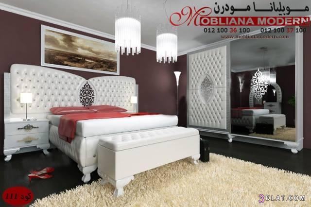 غرف نوم مودرن – دهانات – أسود – أبيض لغرف النوم المودرن   مودرن مودرن