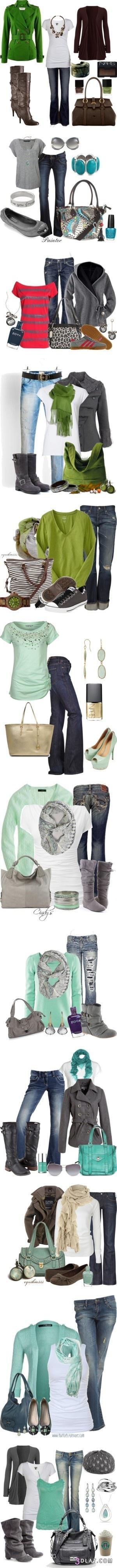 ازياء شتوية جميلة بالاكسسوارات ملابس 3dlat.com_1404479020