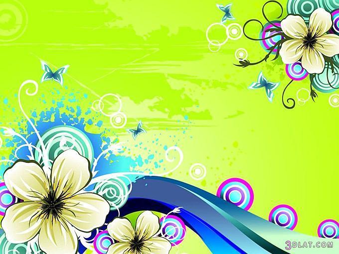 خلفيات بوربوينت روعه خلفيات ورود ورسومات 3dlat.com_1406387323