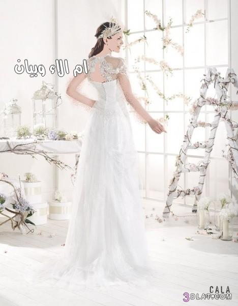فساتين للعروس الهيبي,صيحات فساتين عروس 2019 3dlat.com_1406754078