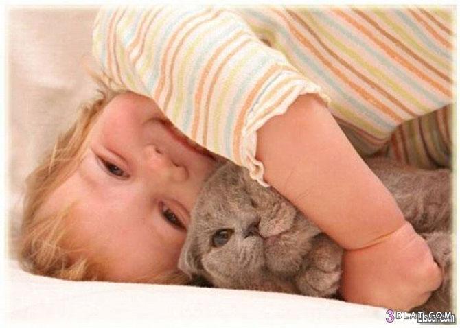صور حيوانات مع اطفال صور اطفال كيوت مع حيوانات صور اطفال مرحه صور حيوانات مرحه 3dlat.com_1406906399