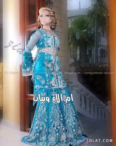 العروس المغربية,احدث زينة للعروس المغربية لموسم 2014-2015 3dlat.com_1406913694