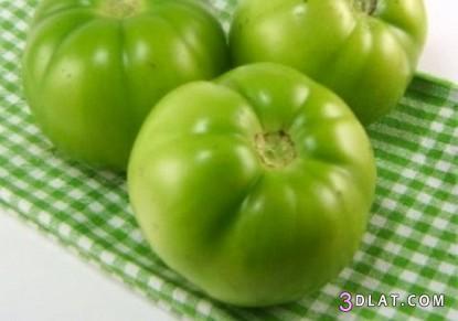 مخلل البندورة الخضراء طريقة مخلل 3dlat.com_1406950588