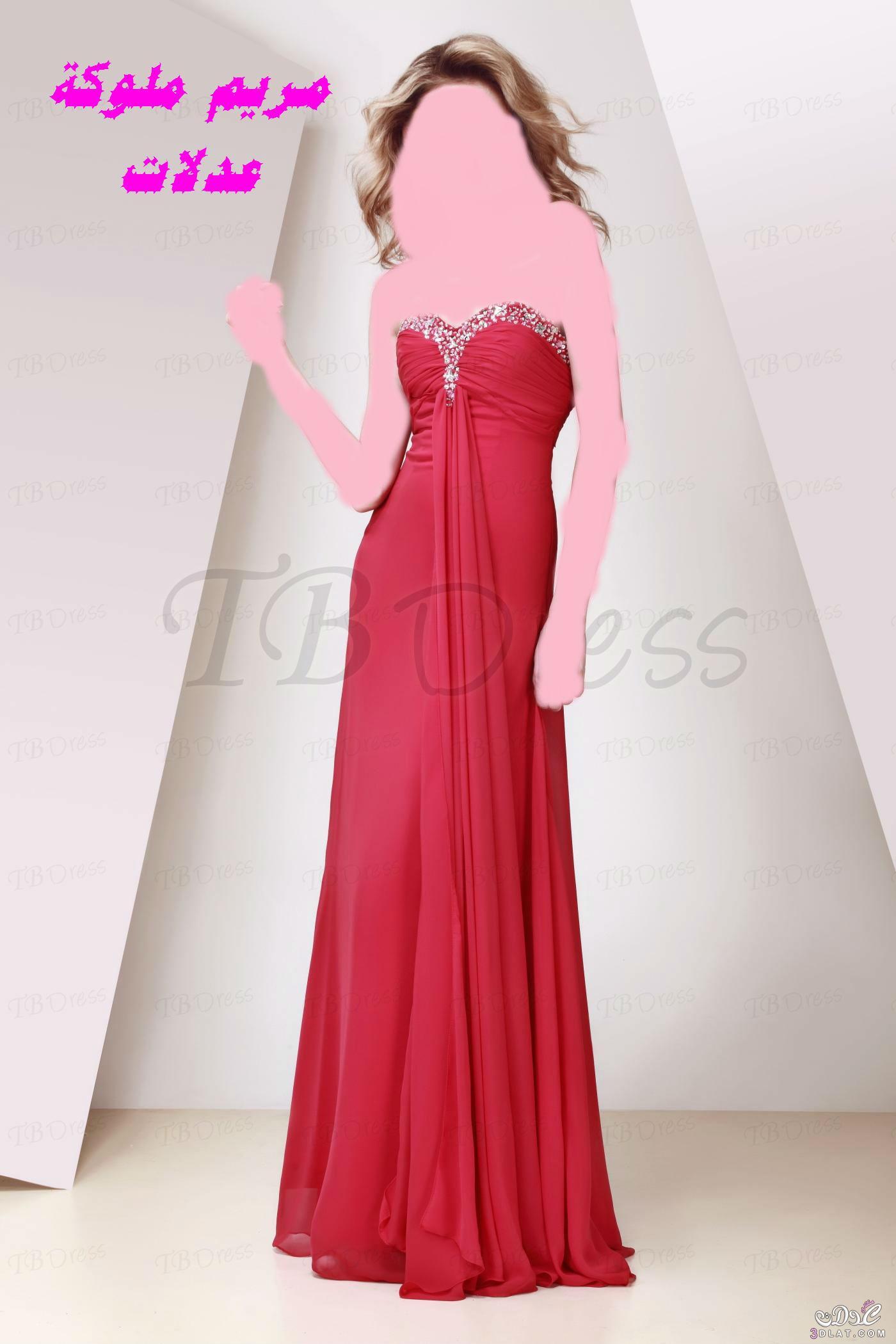 ازياء وفساتين سهرة فساتين سهرة جميلة 3dlat.com_1407095250