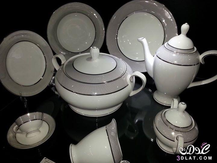 ادوات منزلية اطقم صينى للعروسة صور احدث تصميمات اطقم الصينى 2014 ادوات مميزة 3dlat.com_1407254525