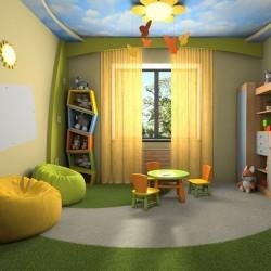 الإضاءة في غرف نوم الأطفال   ام طاطو