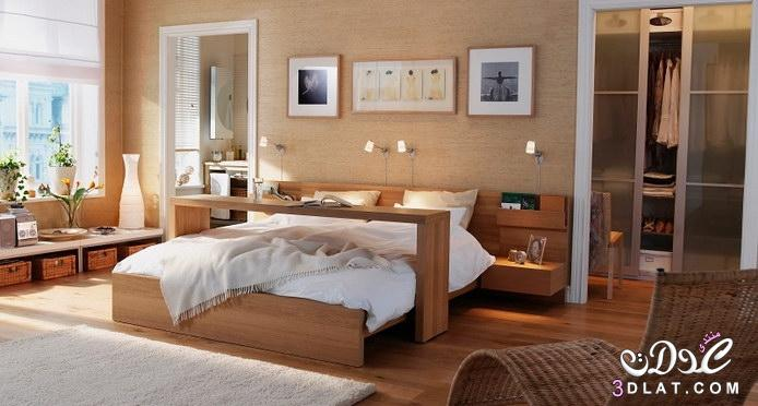 غرف نوم بالصور 2018 ديكورات مودرن تصميمات فرنسية تشكلية من غرف