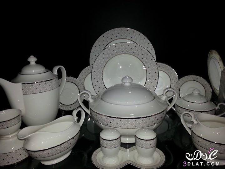 اطقم صينى بتصميمات فاخرة ادوات جديدة  لمنزلكِ بالصور لوازم المطبخ  حصرى 2014 3dlat.com_1408550447