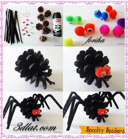 كيف أصنع عنكبوت لعبه,لعبه بسيطه وديكور جميل لغرفه ألأطفال 3dlat.com_1409036172