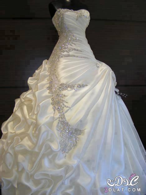 4c8c6d6e7 فساتين زفاف جديدة 2020 صور غير مطموسة لفساتين فرح عالمية موديلات ...