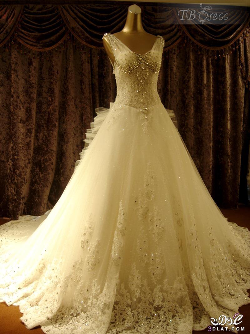 9f676a5387bcf فساتين زفاف جديدة 2020 صور غير مطموسة لفساتين فرح عالمية موديلات ...