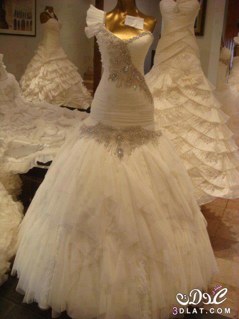 d4a32126b فساتين زفاف جديدة 2020 صور غير مطموسة لفساتين فرح عالمية موديلات ...