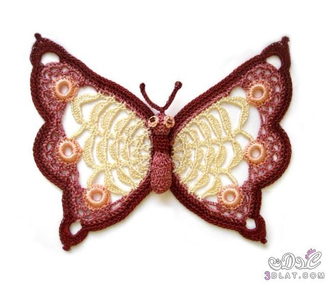 صنع الفراشه بالكروشيه 3dlat.com_1411145471