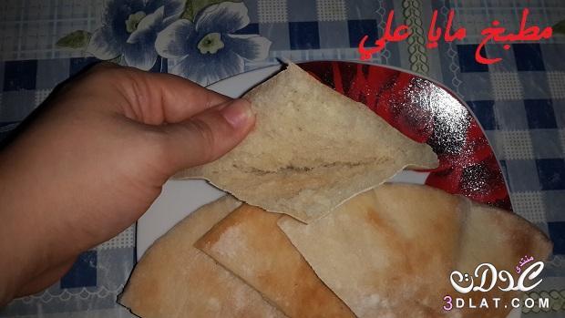 أحلى شامي مطبخى طريقة تحضير العيش 3dlat.com_1411334945