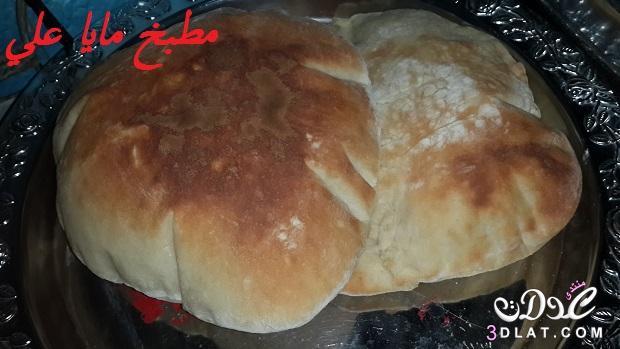 أحلى شامي مطبخى طريقة تحضير العيش 3dlat.com_1411335051