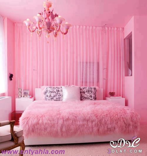 ديكورات غرف نومالوان رائعةوشكل روعه   Marwa El shazly