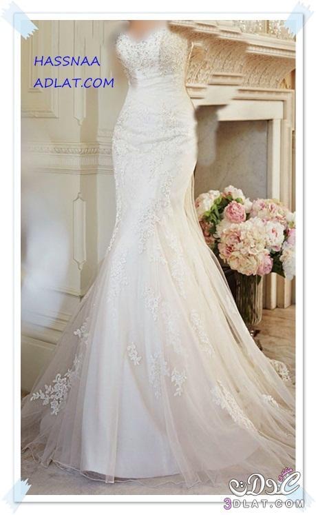 e6c93327c224f فساتين زفاف عالمية لعروس 2020 فستان ليله العمر فساتين زفاف ناعمه ...