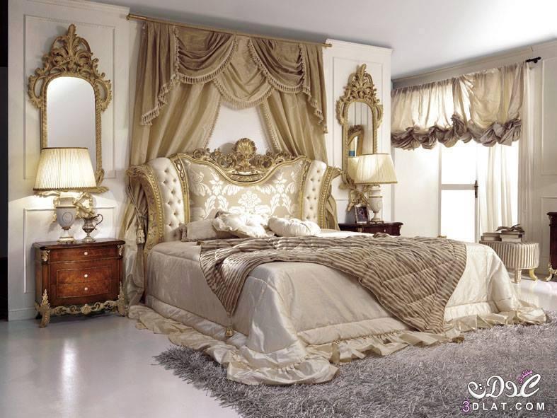 غرف نوم 2018 , غرف نوم فخمة للعرسان 2018 , صور غرف نوم اخر فخامة